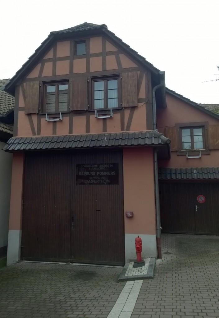 Caserne des Sapeurs-Pompiers de Lampertheim